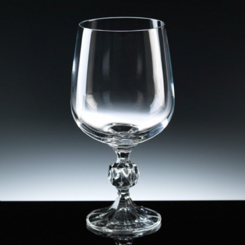 Engraved Crystalite Claudia Wine Goblet 340ml
